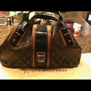 Louis Vuitton Limited Edition Noir Monogram Bag